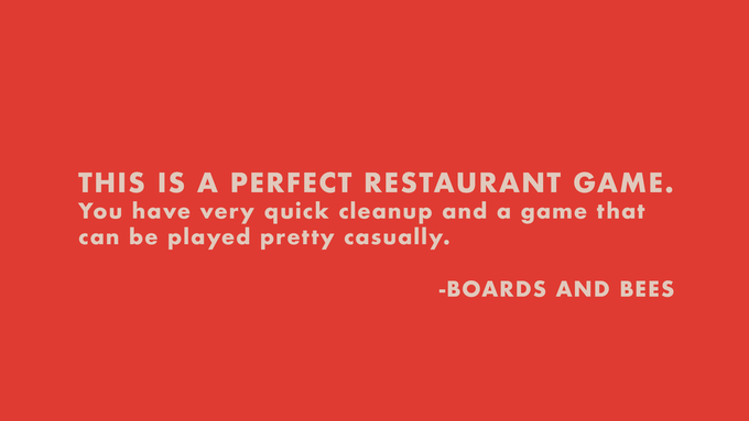 Click the review above to visit Boards and Bees' complete review.