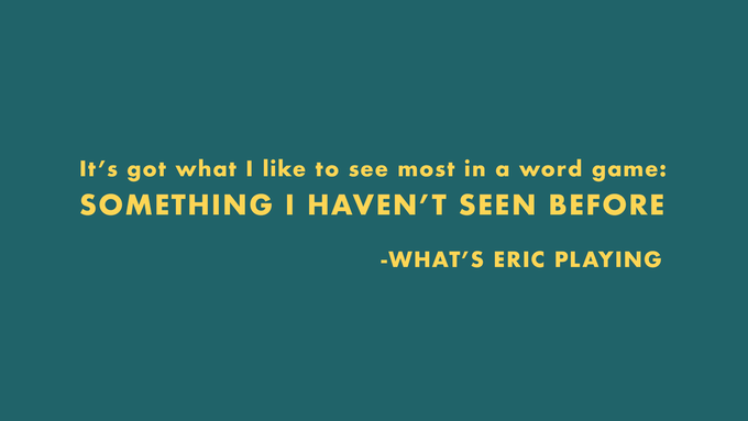 Click the review above to visit What's Eric Playing's complete review.