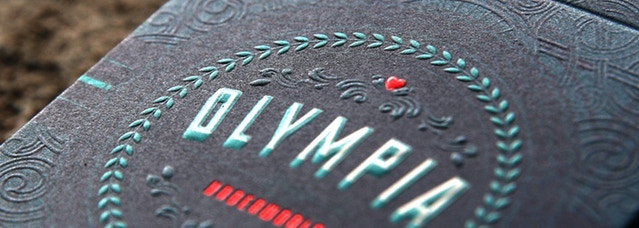 Example of tuck embossing on one of my previous decks