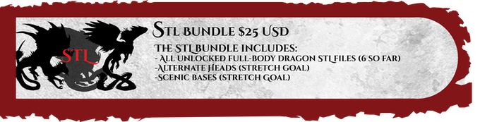 what is included in the STL bundle pledge