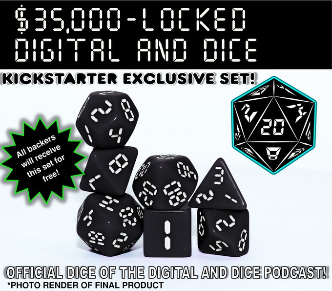 The folks over at Digital and Dice have worked with us to produce an official podcast set! They produce a few weekly and bi-weekly shows, ranging from their Hazardous Endeavors actual play D&D to horror based S.G.O. files, and even a weekly topic discussion based podcast. I highly recommend checking them out! Click the image above to visit their website.