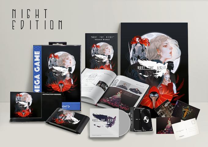 Hunt the Night - 16-bit dark fantasy action-adventure game