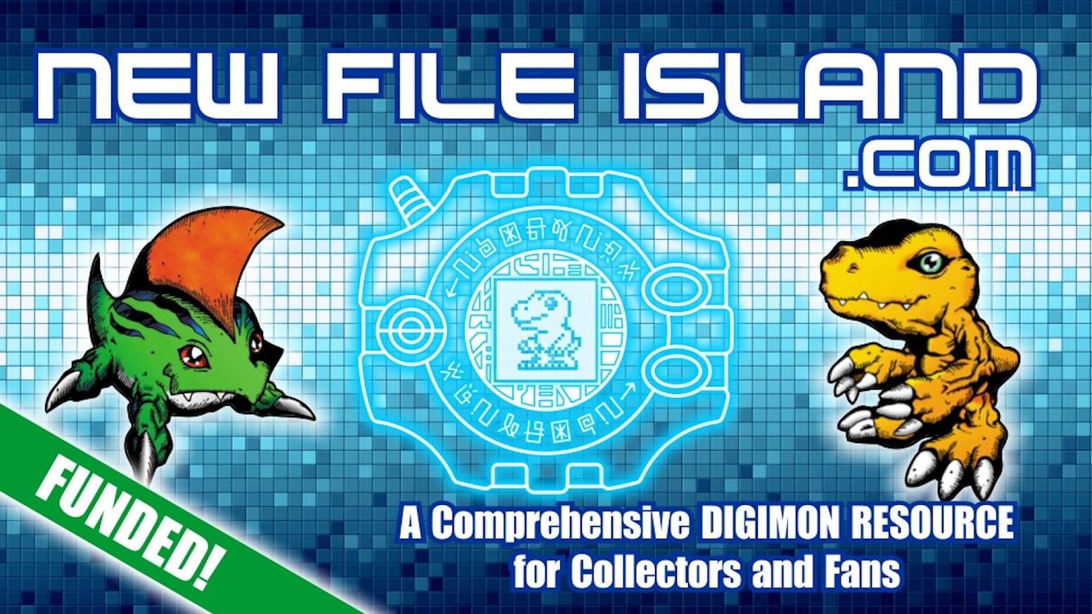 New File Island: A Digimon Resource by Duke Davidson — Kickstarter