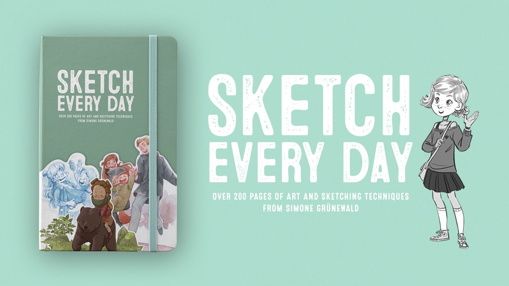 Sketch Every Day project video thumbnail