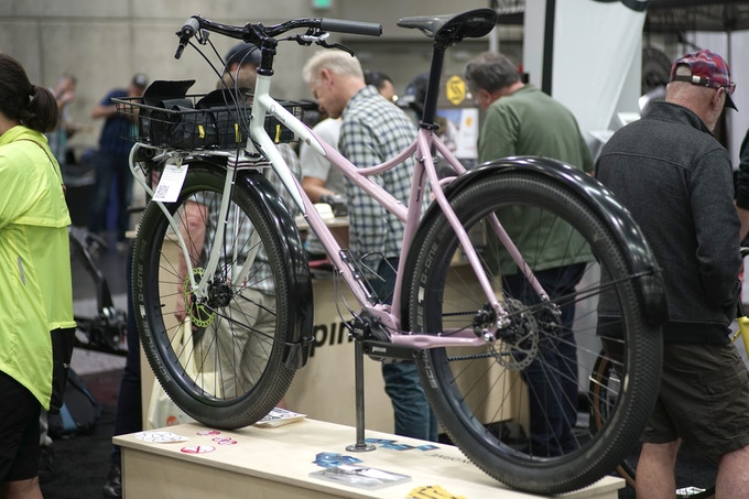 Ahearn at NAHBS 2019 sporting the Shift:R Tour