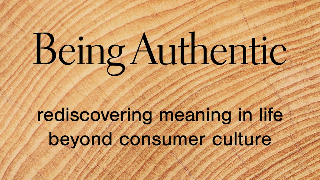 Being Authentic project video thumbnail
