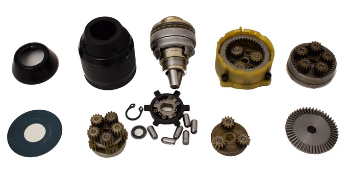 KwikPro uses a mix of standard and specially designed and machined internal mechanical components.