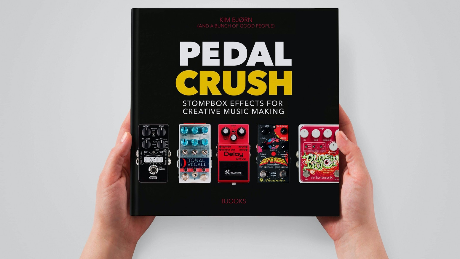 The new book about Stompbox Effects For Creative Music Making
