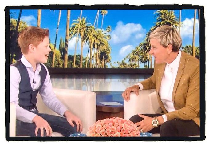Toby Lee - The Ellen Show
