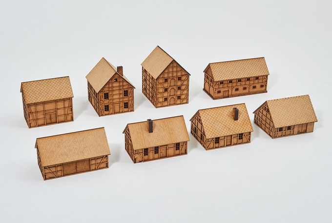 TABLETOP VILLAGE Collection by Terrains4Games by