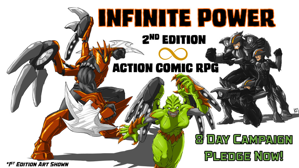 Project image for Infinite Power: 2nd Edition Role Playing Game (Canceled)