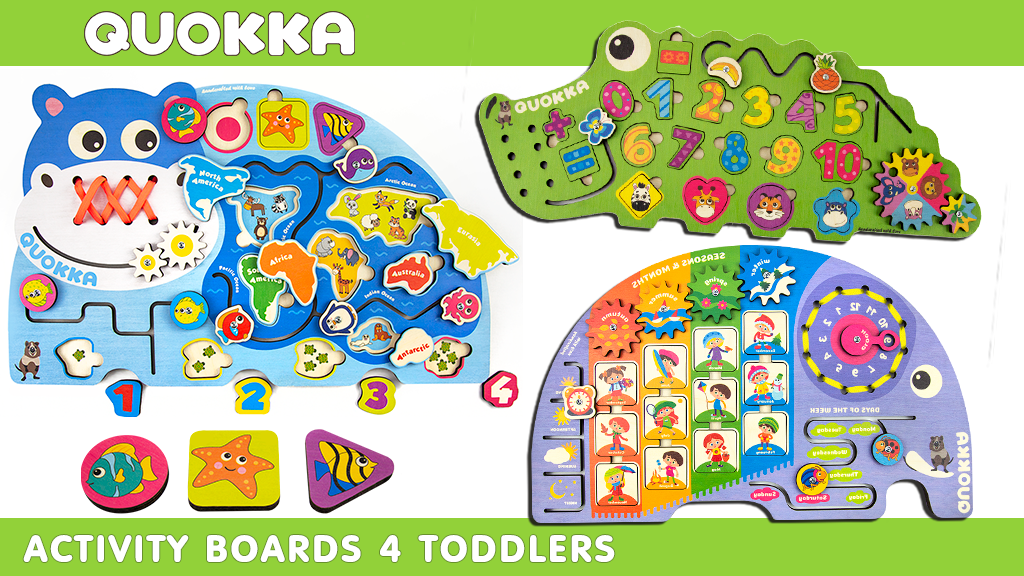 Project image for QUOKKA ACTIVITY BOARDS – Funniest Wooden Boards for KIDS! (Canceled)