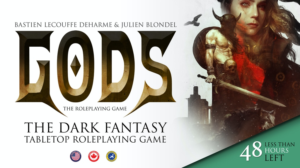 GODS - The dark fantasy RPG project video thumbnail