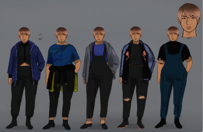 Jo's concept work!