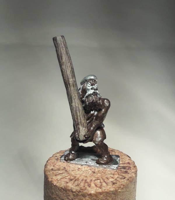 Caber Throwing Highlander