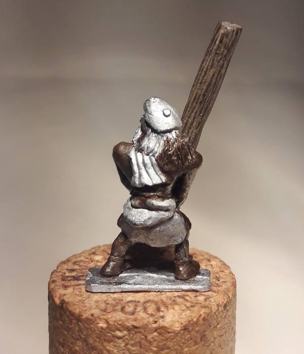 Caber Throwing Highlander ( rear view)