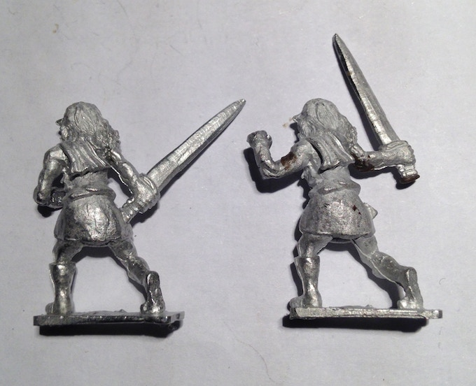 Sword Variant Highlanders (rear view) Selection options