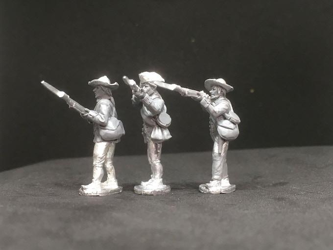 American Militia MPC firing