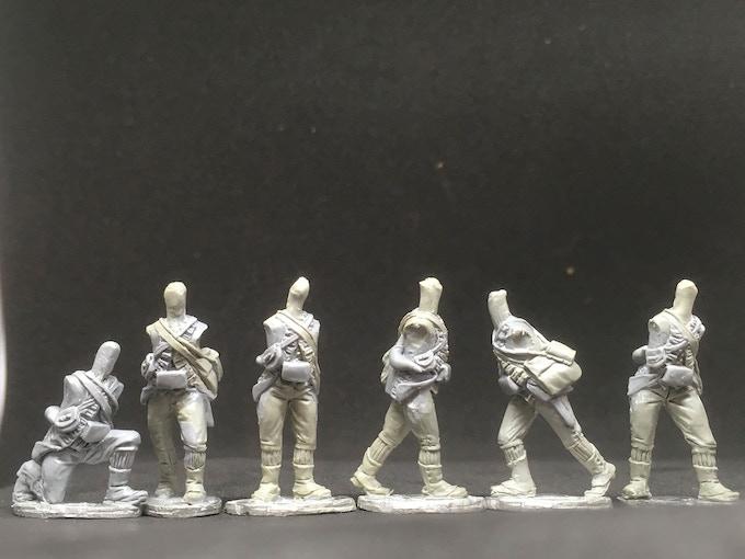 British Light Infantry dollies