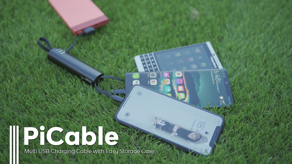 PICABLE: An amazing 3-in-1 versatile cable with a mini box