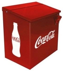 Render de la Hielera de escritorio de Coca-Cola