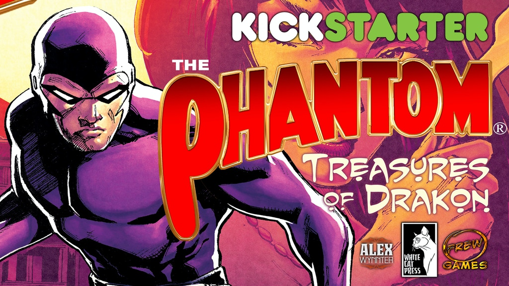 The Phantom: Treasures of Drakon board game project video thumbnail