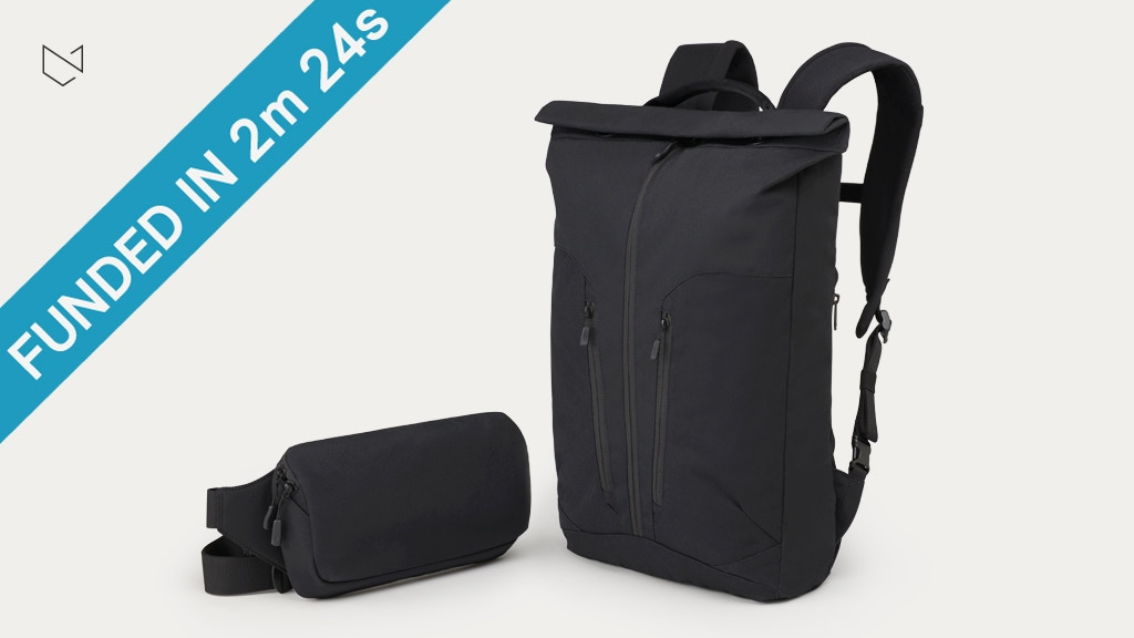 The Minaal Rolltop & Crossbody — pack lighter, move faster. project video thumbnail