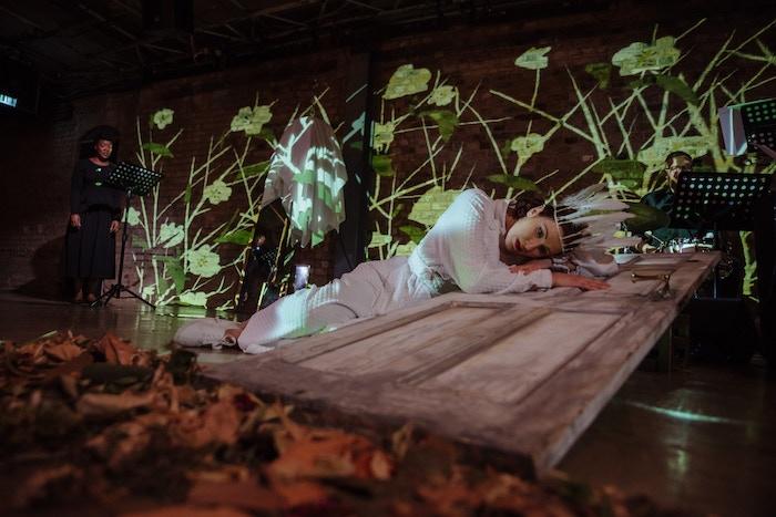 Creating a brand new epic opera based on an Armenian folktale, blending live performance with digital audio-visual art.