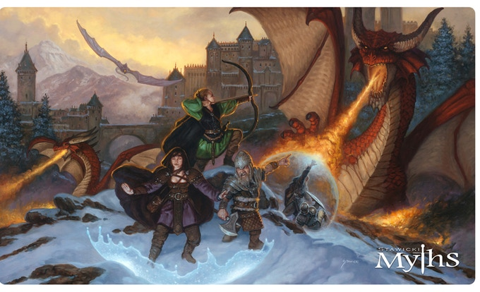 Force of Will 14x24 Playmat