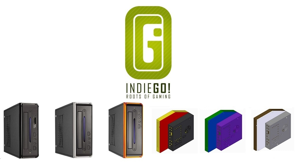 IndieGO! Classic Retro Console and XS - the NEW slim version