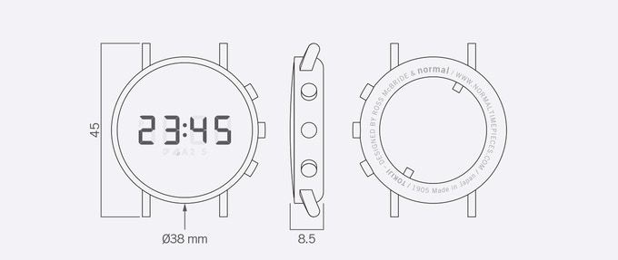 Tokiji: Ode to the digit by Normal Timepieces — Kickstarter
