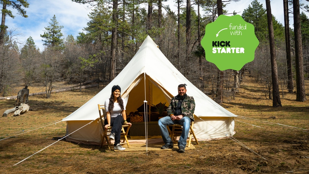 Kickstart Glamping in San Diego - Tree Tent Retreat project video thumbnail