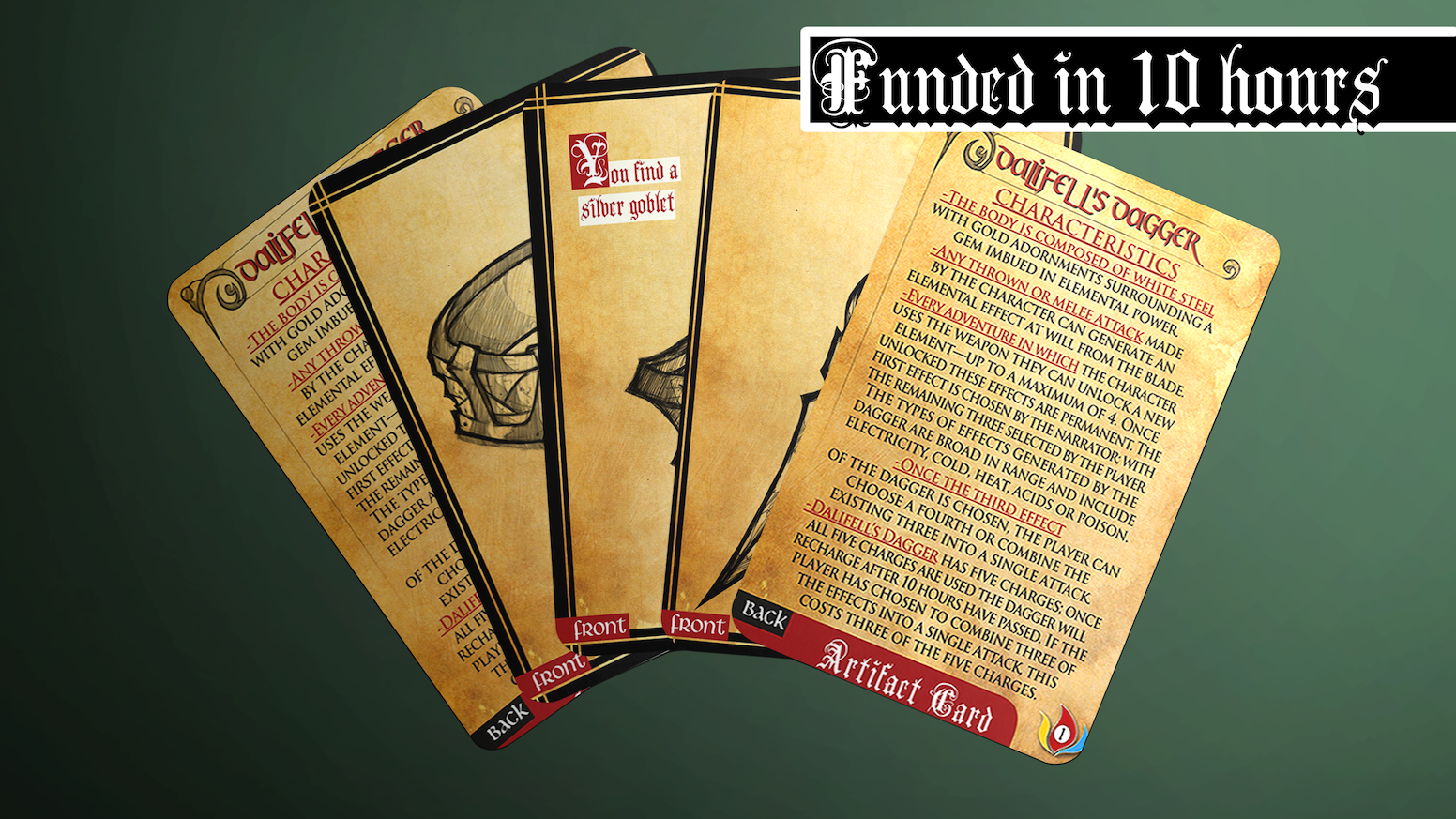 Rpg Fantasy Artifacts Deck D D 5e And Pathfinder Adaptable By