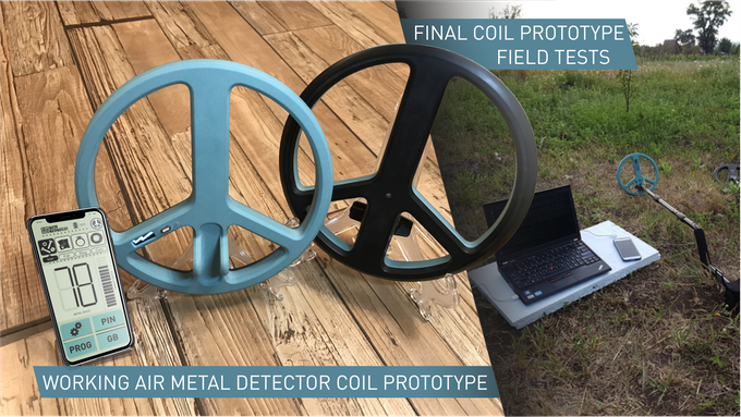 Air Metal Detector Final prototype