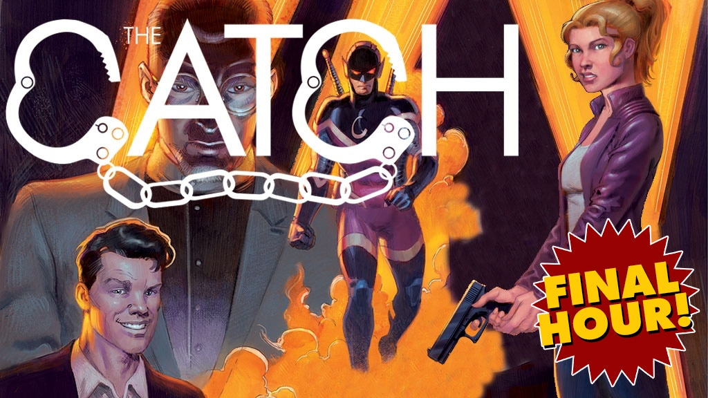 The Catch #1: A crime-superhero-caper-romance comic! project video thumbnail