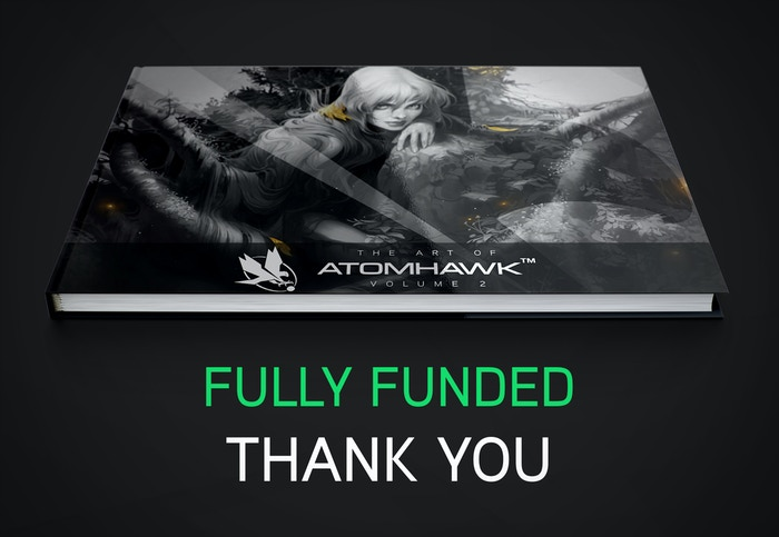 A beautiful, high quality art book for artists and art lovers, featuring the best work from the Atomhawk team.