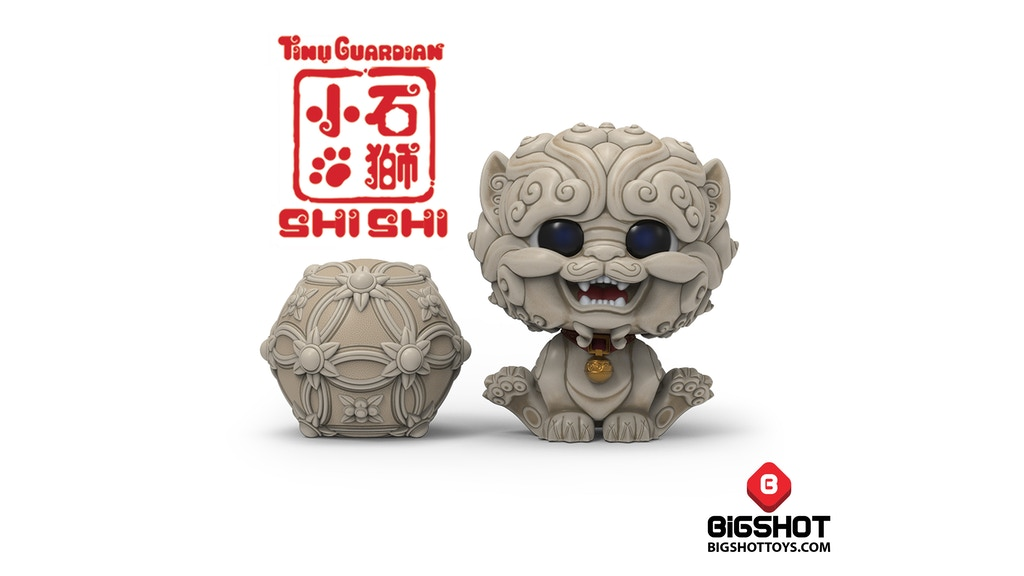 Shi-Shi the Tiny Guardian Collectible Figures project video thumbnail
