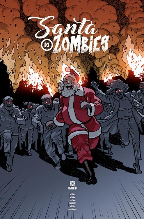 Christmas Zombie Santa.Santa Vs Zombies By Koji Steven Sakai Kickstarter