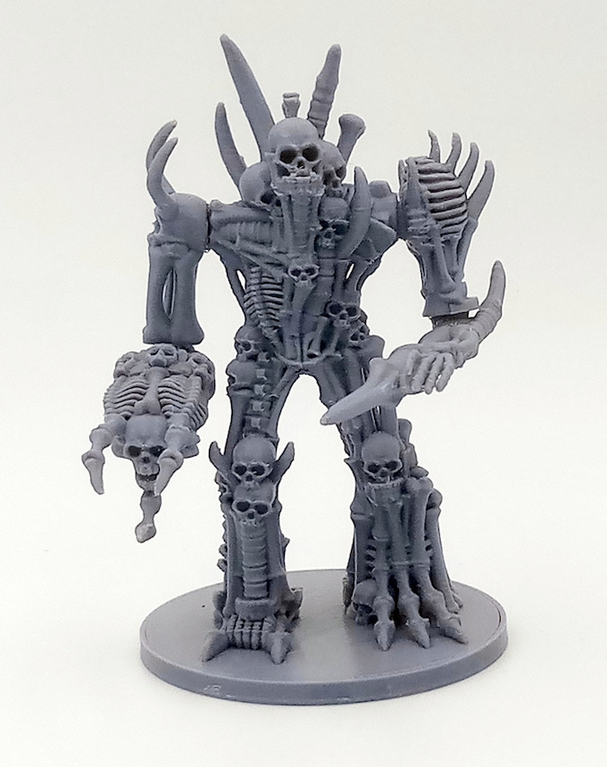 Miniatures printed on a $200 Creality 'Ender 3'