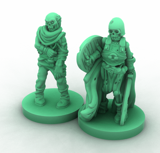 these are rendered figures to show the high detail of the models that you can expect