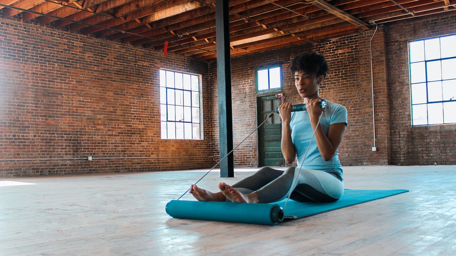 Compact   Portable   Unique - Enjoy quick and fun workouts without sacrificing valuable space in your home, studio or hotel room.