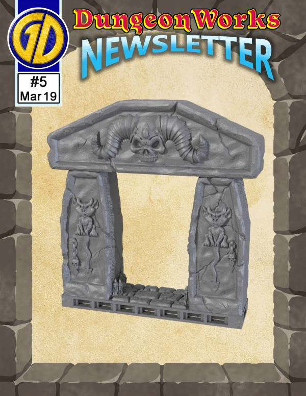 Click to view the current newsletter and get the free Ancient Arch!