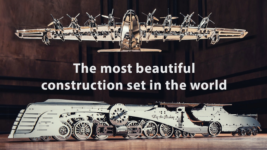 The most beautiful construction set in the world project video thumbnail