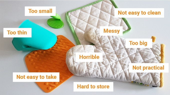 We all know these horrible potholders ;( (FR: Nous connaissons tous ces horribles maniques)