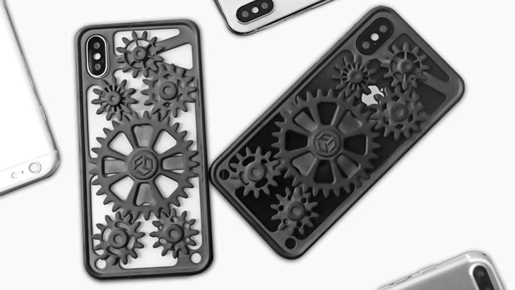 3DFun: 3D Printing Gear Phone Case with Playful &Interactive
