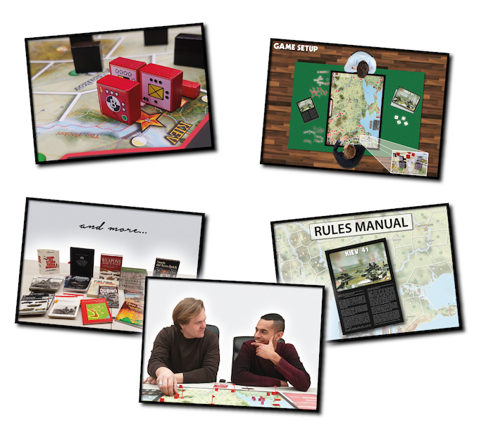 A beautiful game, quick to setup, easy to learn, fun to play, and based on the newest historical research