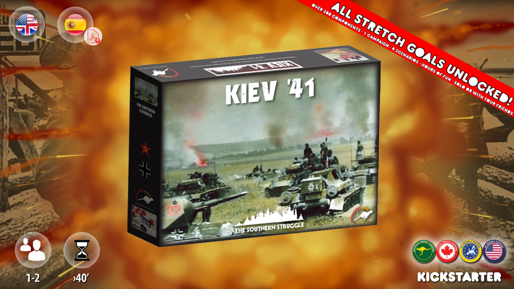 KIEV '41 Lead the Germans or the Soviets to Total Victory! project video thumbnail