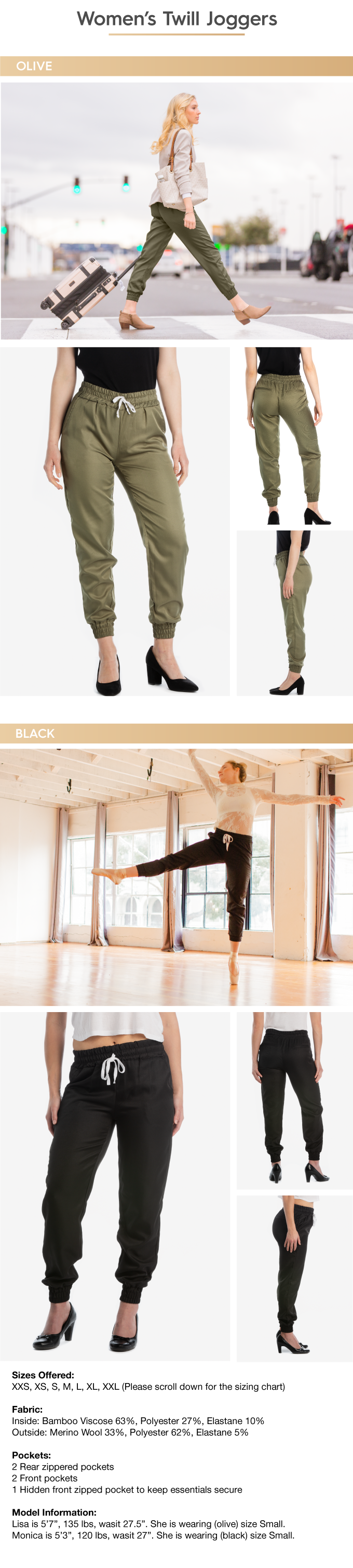 The World's Best TRAVEL PANTS with 15 Features || BauBax by BAUBAX