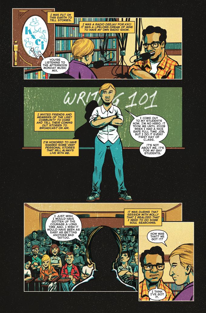La Voz De MAYO #2, Page 2 (Barajas, Gonzo, Brice, Napier) *Not Final