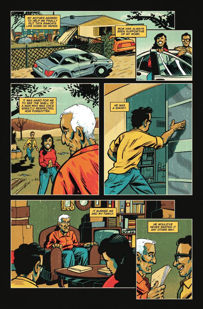 La Voz De MAYO #2, Page 3 (Barajas, Gonzo, Brice, Napier) *Not Final